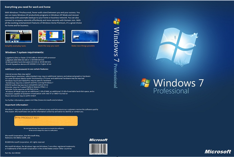 Download Free Windows 7 Professional
