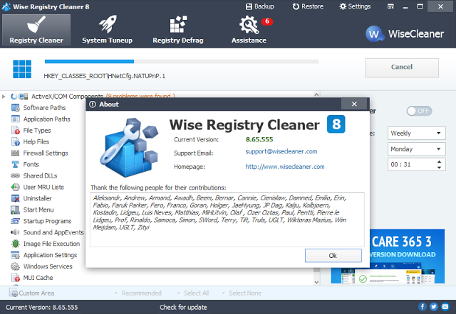 Wise Registry Cleaner Latest Version Free Download