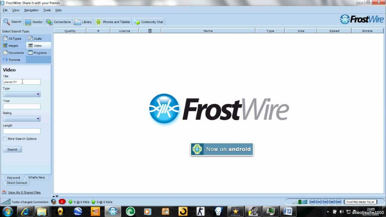 Free Download FrostWire