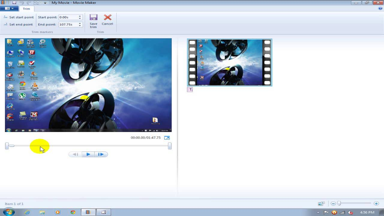 Free Windows Live Movie Maker