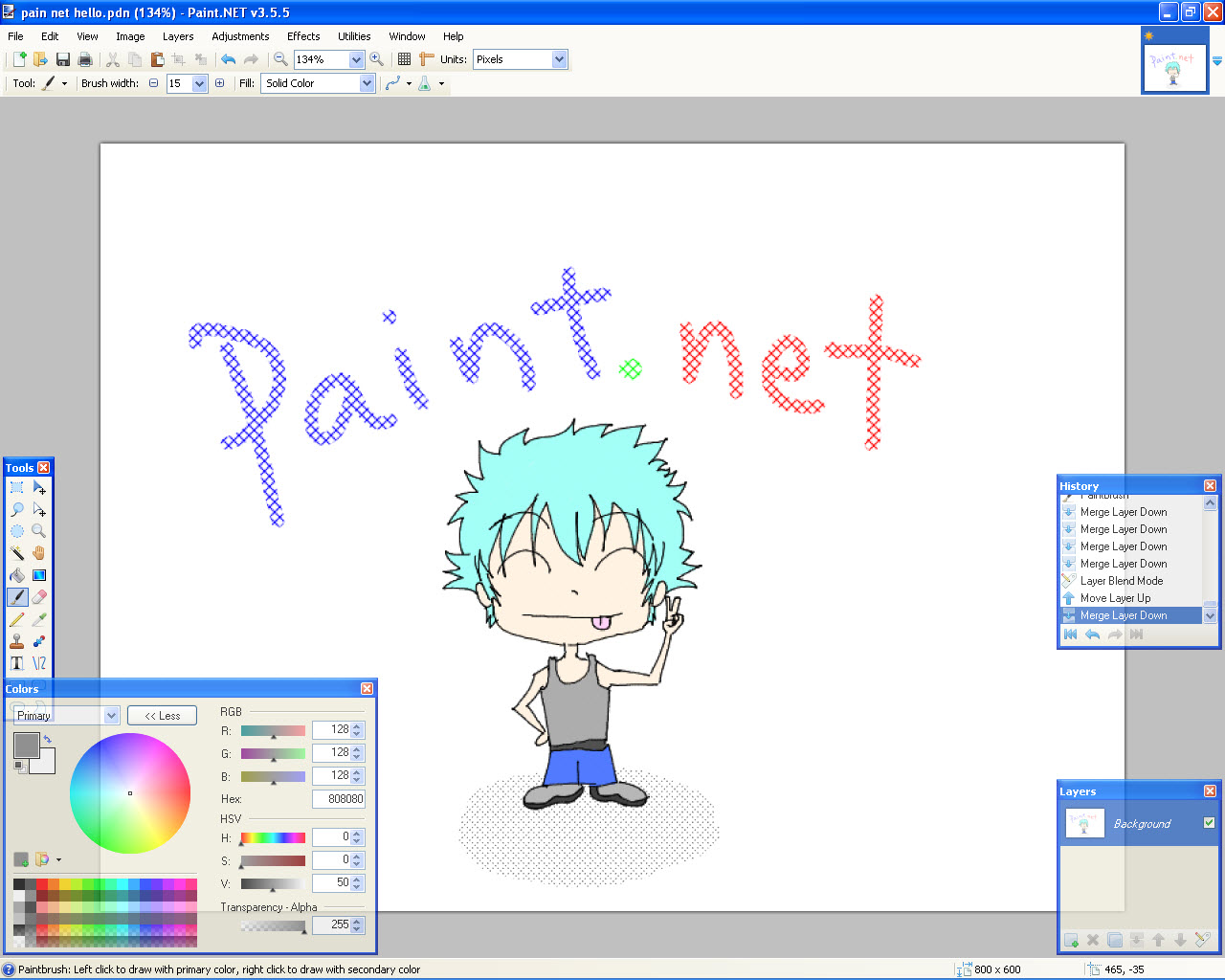 Paint. Net-for-windows-10 windows mode.