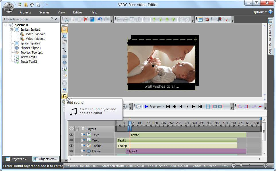 VSDC Video Editor Latest Version Free