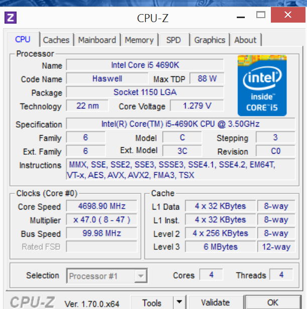 Cpu-z download (2019 latest) for windows 10, 8, 7.