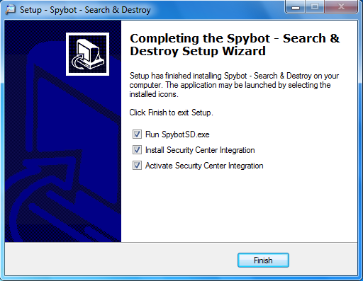 Free Spybot- Search and Destroy