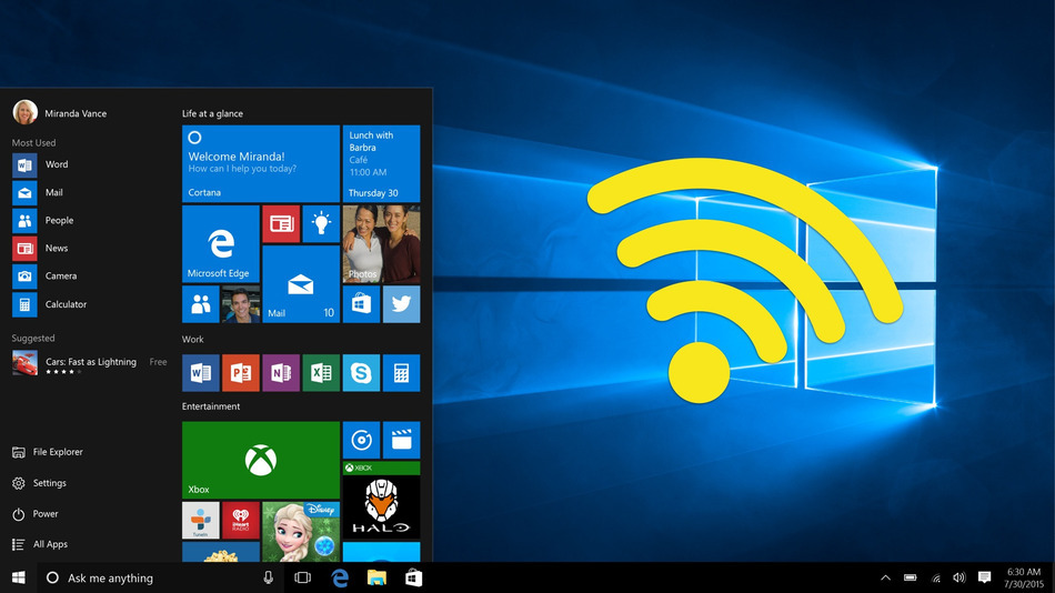 Free WiFi Hotspot for Windows 10
