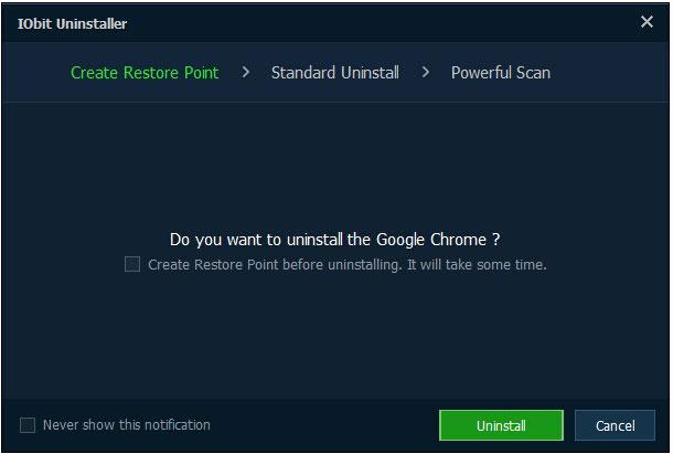 iobit uninstaller offline installer