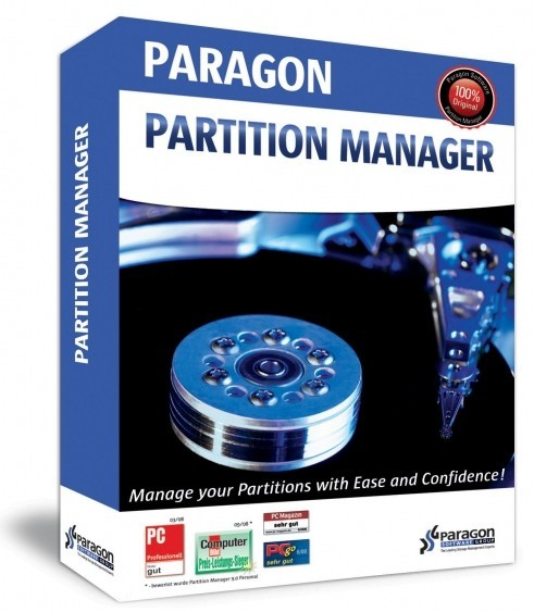 Free Edition Paragon Partition Manager (64-bit)