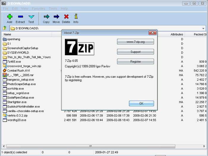 Free 7-Zip