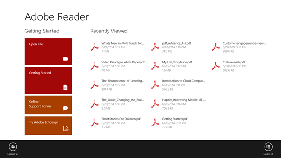 PDF Reader for Windows 10 Free