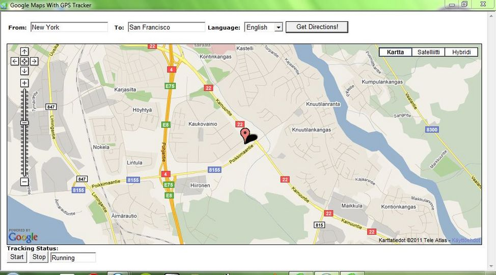 Download Free Google Maps with GPS Tracker