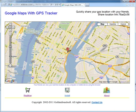 free google maps with gps tracker