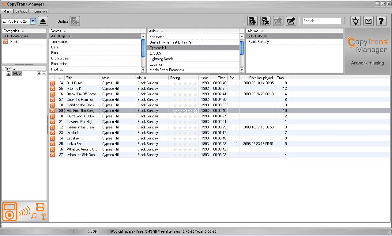 CopyTrans Manager Free