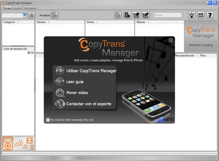CopyTrans Manager Latest Version Free Download