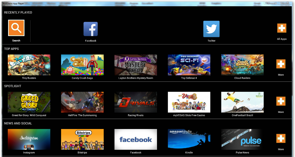 bluestacks app player for windows 7