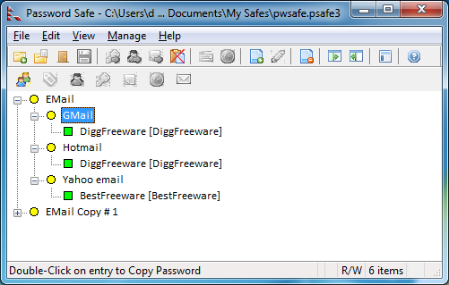 password safe latest version