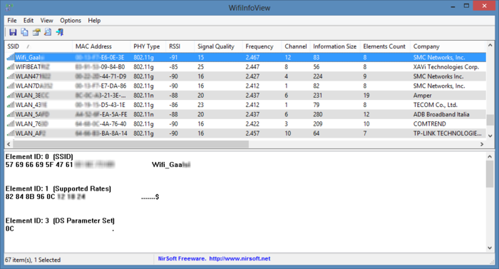 WifiInfoView 2.10 Free Download for pc