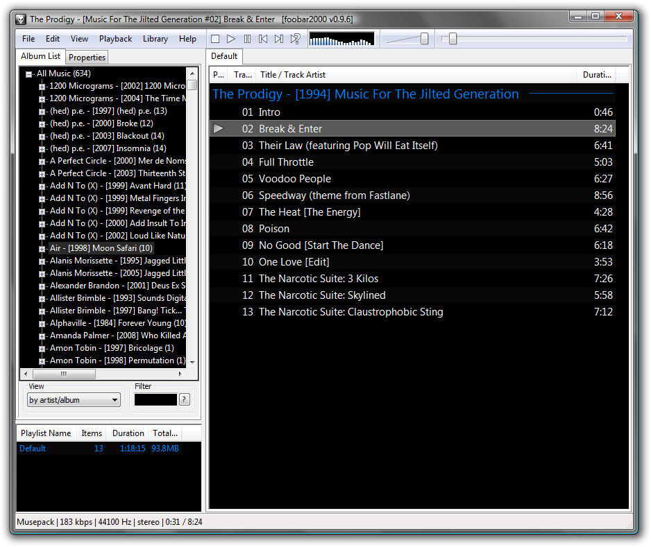 foobar2000 Free Download full setup
