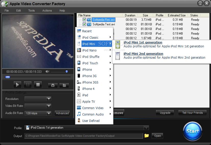 Apple Video Converter Factory Pro offline installer