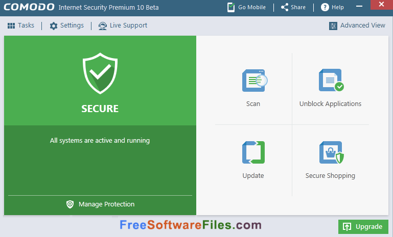 Free download Comodo Internet Security