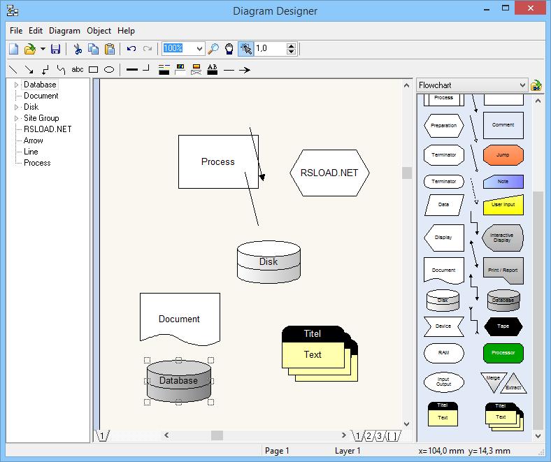 meesoft diagram designer