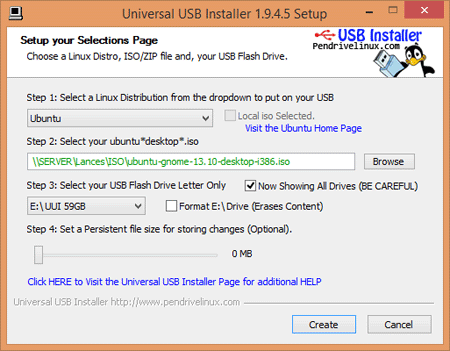 universal usb installer windows 7