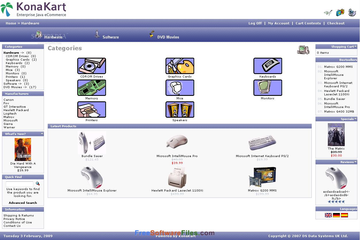 Konakart 8.5.0.0 Free Download for windows