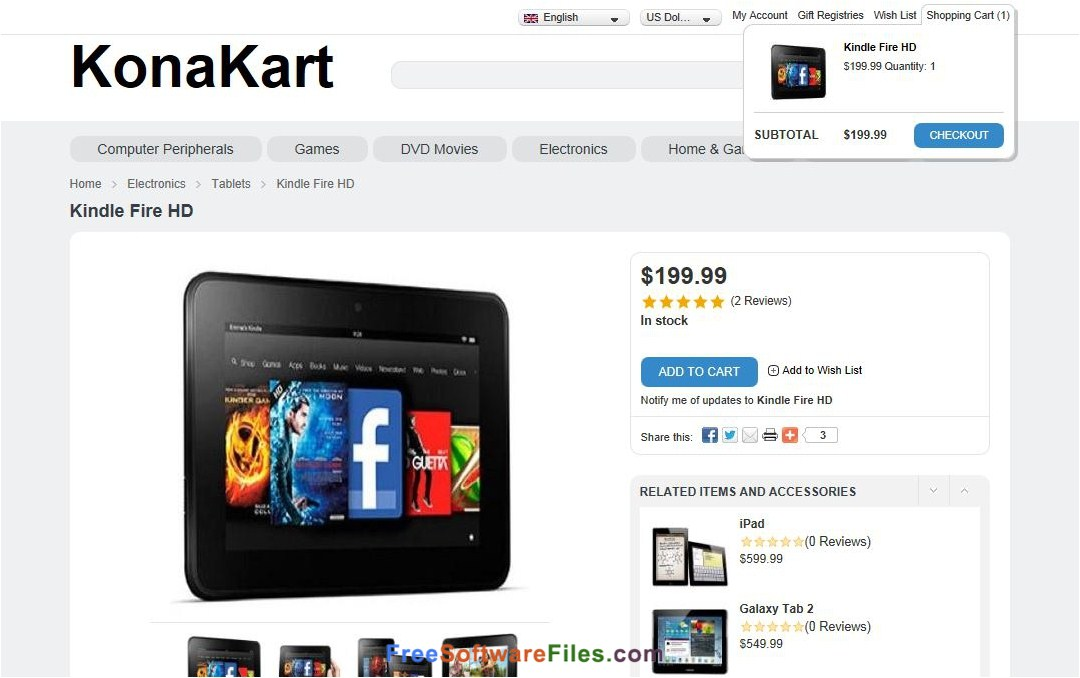Konakart 8.5.0.0 Free Download full setup