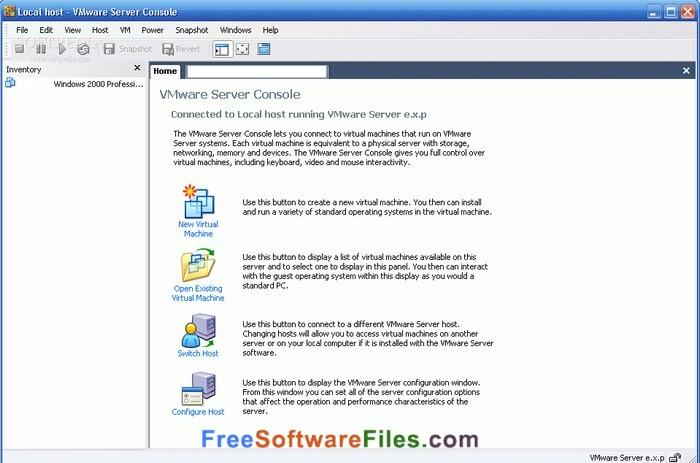 VMware Server 2.0.2 Free Download latest version
