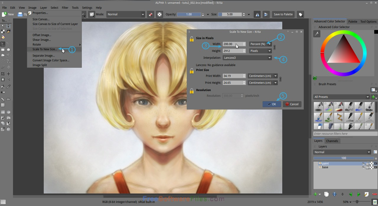 Free Download krita 3.1.3 Offline installer