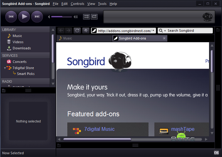 Songbird 2.2.0 Free Download latest version