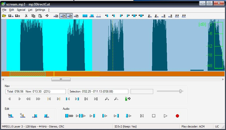 mp3directcut 2.13 free download
