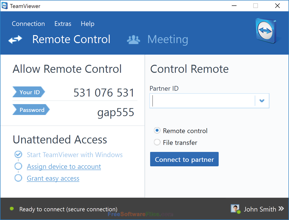 TeamViewer 12.0.78716 Free Download for windows pc