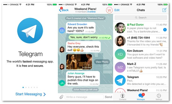 Telegram Desktop 1.1.9 Free Download for Windows Mac Linux