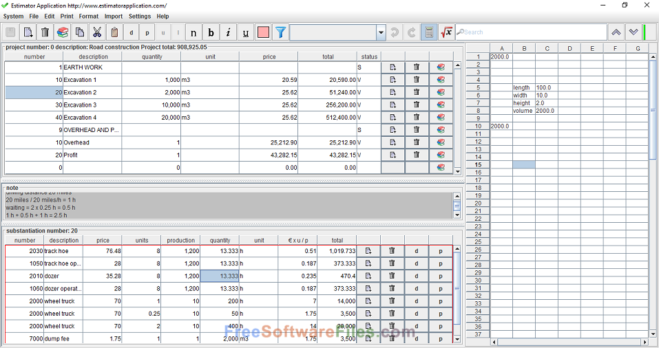 construction estimator software