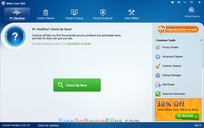 wise care 365 pro free download