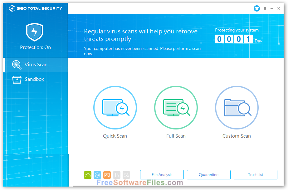 360 Total Security Essential 8.8.0.1043 Free 2017
