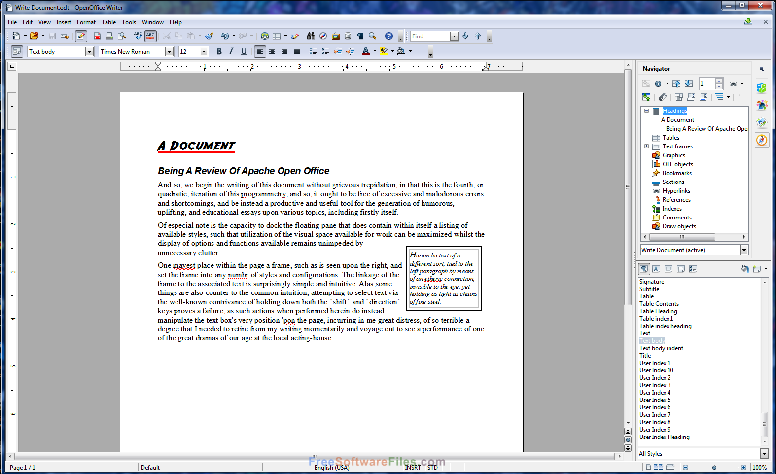 Apache OpenOffice 4.1.3 for windows