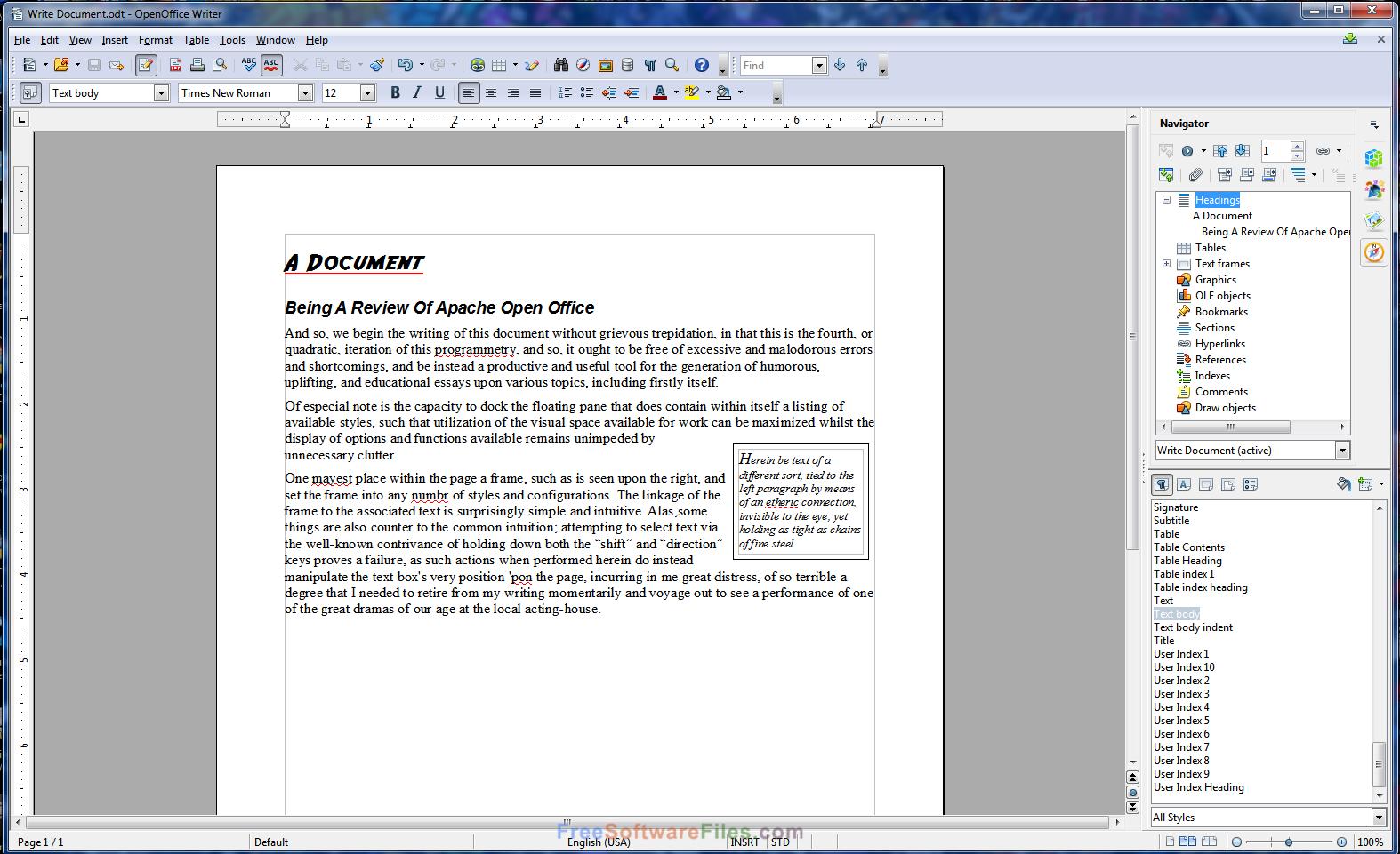 Apache OpenOffice 4.1.3 for windows