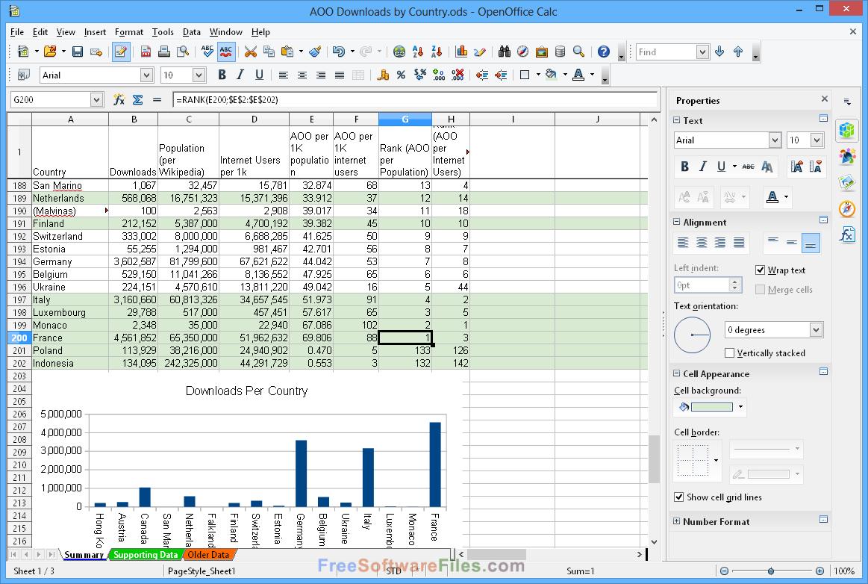 Apache OpenOffice 4.1.3 windows 10