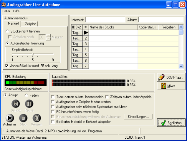 Audiograbber 1.83 Free Download for pc