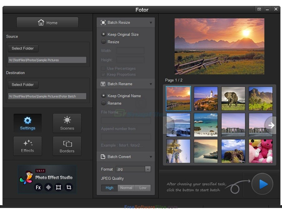 Fotor 3.1.1 Free Download for windows