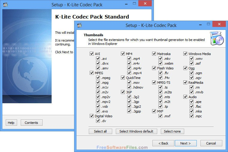 Free Download K-Lite Codec Pack Full 13.4.0