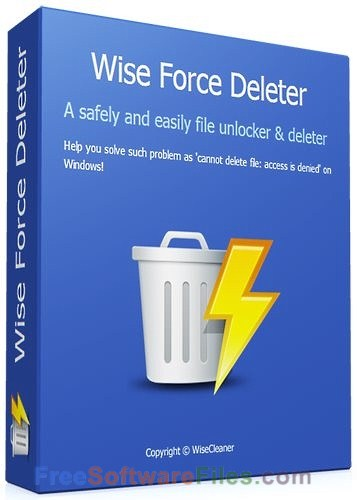 Free Wise Force Deleter 1.46