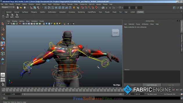 Fabric Engine 2.6 for developing visual effects