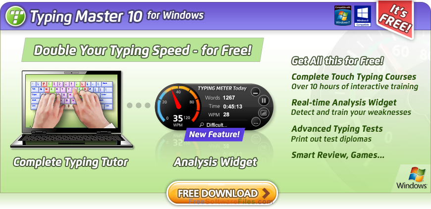 typing 10 software free download