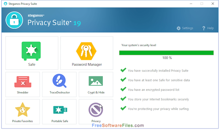 Free Download Steganos Privacy Suite 19