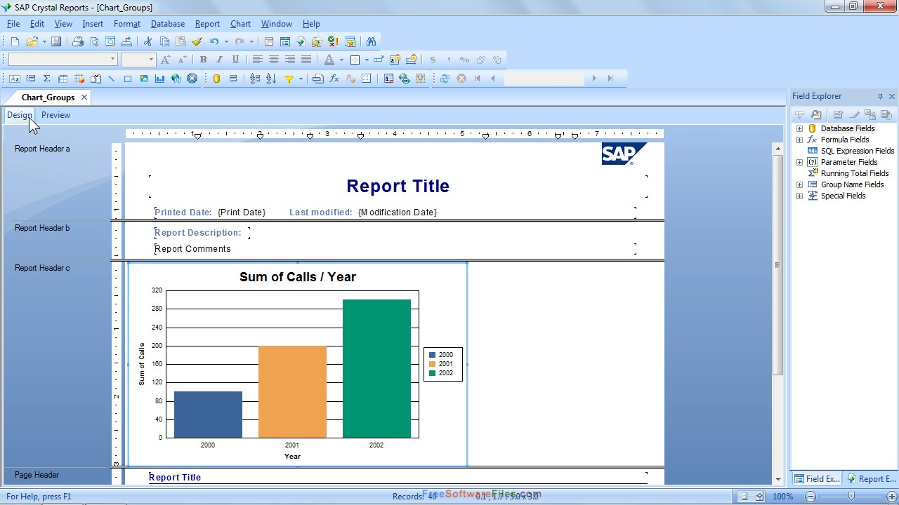 SAP Crystal Reports v14.1 Free Download 2017 latest version