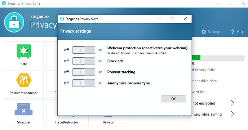 Steganos Privacy Suite 19 full setup download