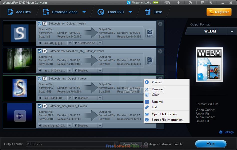 WonderFox DVD Video Converter Free Download for PC