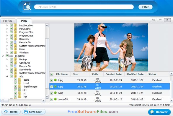 Wondershare Data Recovery 6.5.1.5 Free Download latest version
